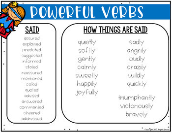 In Other Words: Word Lists to Create Colorful Writers {A PAPERLESS RESOURCE}