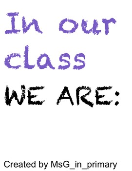 In Our Class...