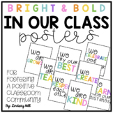 In Our Class... Posters for Fostering a Positive Classroom