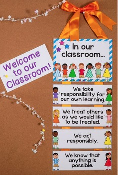 """""""In Our Classroom"""" {Posters for Classroom Expectations and Community Building}"""