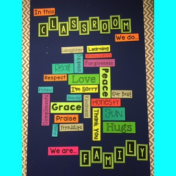 In This Classroom Printable