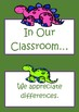 In Our Classroom - Resonsibilities - Dinosaur theme - Freebie
