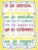 In Our Classroom Sign