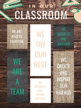 *FREEBIE* In Our Classroom We...