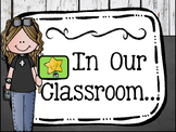 Expectations Poem :In Our Classroom...We Are Family