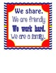 In Our Classroom, We do.... (Nautical Themed) Wall Hanging