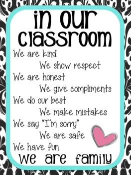 In Our Classroom...Poster