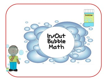 In / Out Bubble Math game