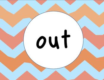 In & Out Door Signs
