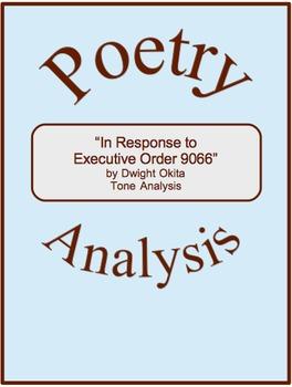 """In Response to Executive Order 9066"" Poetry Tone Analysis"