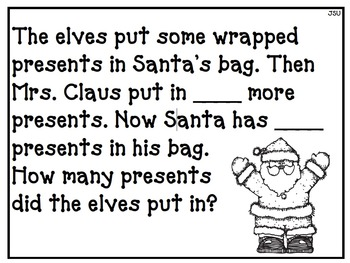 In Santa's Workshop - CGI Math Word Problems