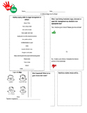 In School Coping Skills Go-To Sheet