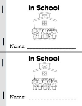In School Mini-Book