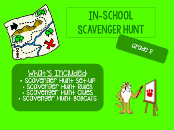 In-School Scavenger Hunt