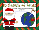 In Search of Santa! A Holidays Around the World Activity