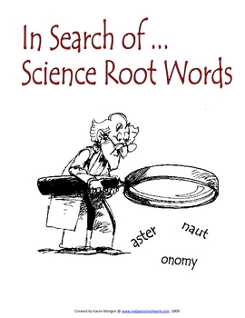In Search of Science Root Words