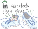 In Somebody Else's Shoes--Printable Montessori Preposition