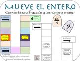 In Spanish: Convertir Fracciones a Números Enteros (Game F