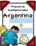 Spanish Speaking Countries: Argentina {Research Project in Spanish}