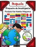 Spanish Speaking Countries: BUNDLE {Research Project in Spanish}