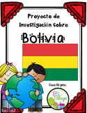 Spanish Speaking Countries: Bolivia {Research Project in Spanish}