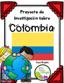 Spanish Speaking Countries: Colombia {Research Project in Spanish}