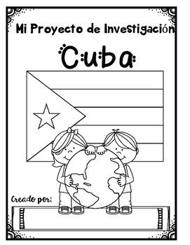 Spanish Speaking Countries: Cuba {Research Project in Spanish}