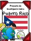 Spanish Speaking Countries: Puerto Rico {Research Project in Spanish)