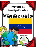 Spanish Speaking Countries: Venezuela {Research Project in Spanish}