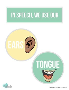 In Speech We Use Our. . . . Posters