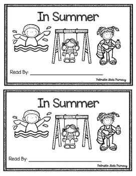 In Summer Emergent Reader