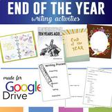 "Digital End of the School Year Writing Activities: ""In Ten Years"""