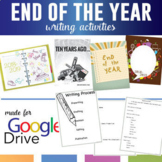 "Digital End of the School Year Writing Activities: ""In Ten Years"""