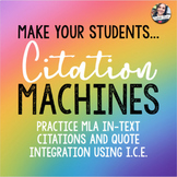 In-Text Citation Practice - Citation Machines