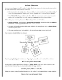 In-Text Citations Guidelines Using MLA