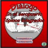 Travel and Vacations: In The Airport Thematic Dialogue - Diálogo Temático