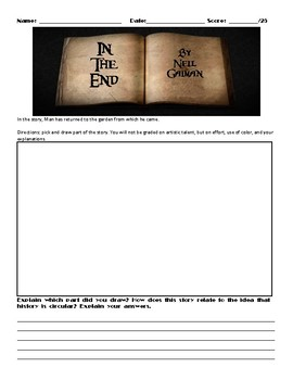 In The End by Neil Gaiman Assignment