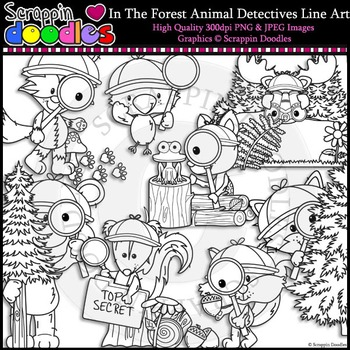 In The Forest Animal Detectives