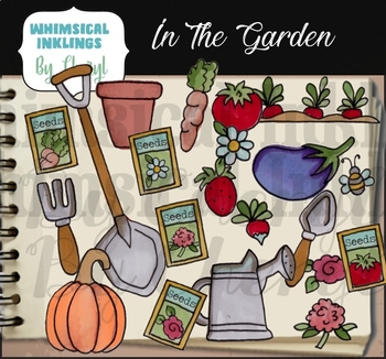 In The Garden Clipart Collection