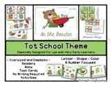 In The Garden - Grow With Me Little Bear Tot School - 1 &