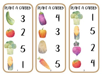 In The Garden Tot School: Lesson Plans and Activity Pack