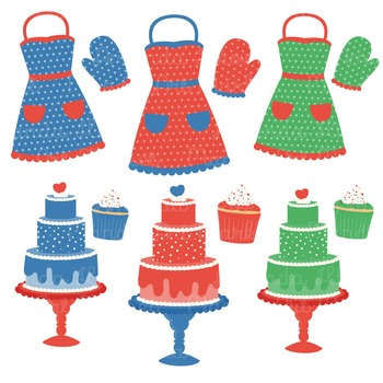 In The Kitchen Baking Clipart & Vectors in Crayon Box - Baking Clip Art