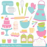 In The Kitchen Baking Clipart & Vectors in Fresh - Baking
