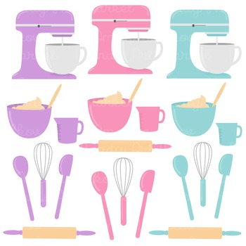 In The Kitchen Baking Clipart & Vectors in Fresh - Baking Clip Art
