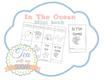 In The Ocean Theme Mini Book