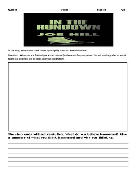 In The Rundown by Joe Hill Assignment