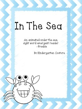In The Sea -emergent reader