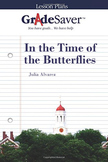 In The Time of the Butterflies Lesson Plan