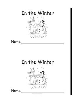 In The Winter-Emergent Reader