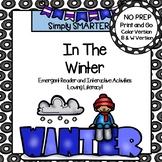 In The Winter Emergent Reader Book AND Interactive Activities